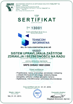 SRPS OHSAS 18001/2008