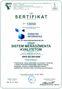 SRPS ISO 9001/2008